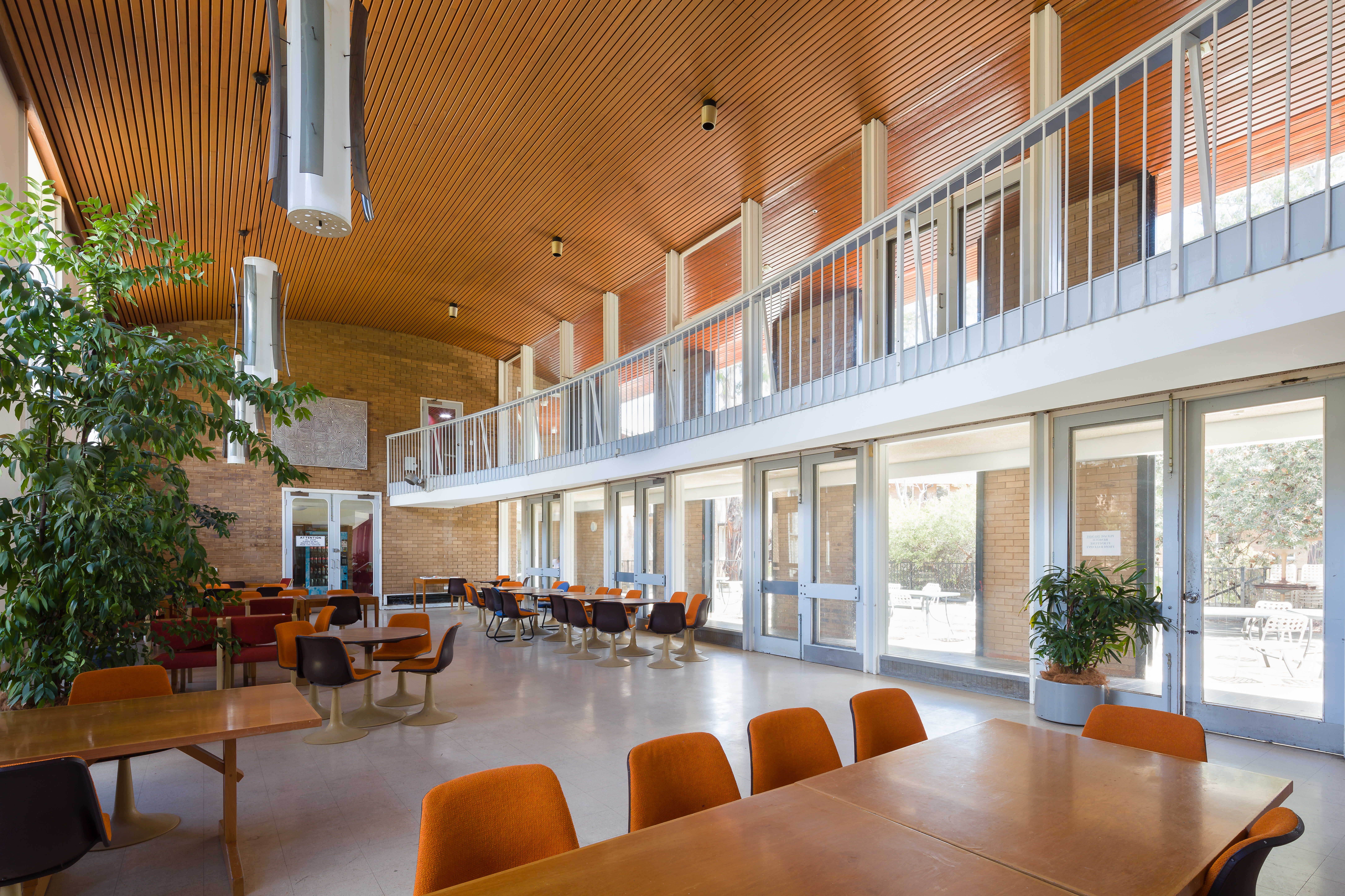 HC Coombs Building interior