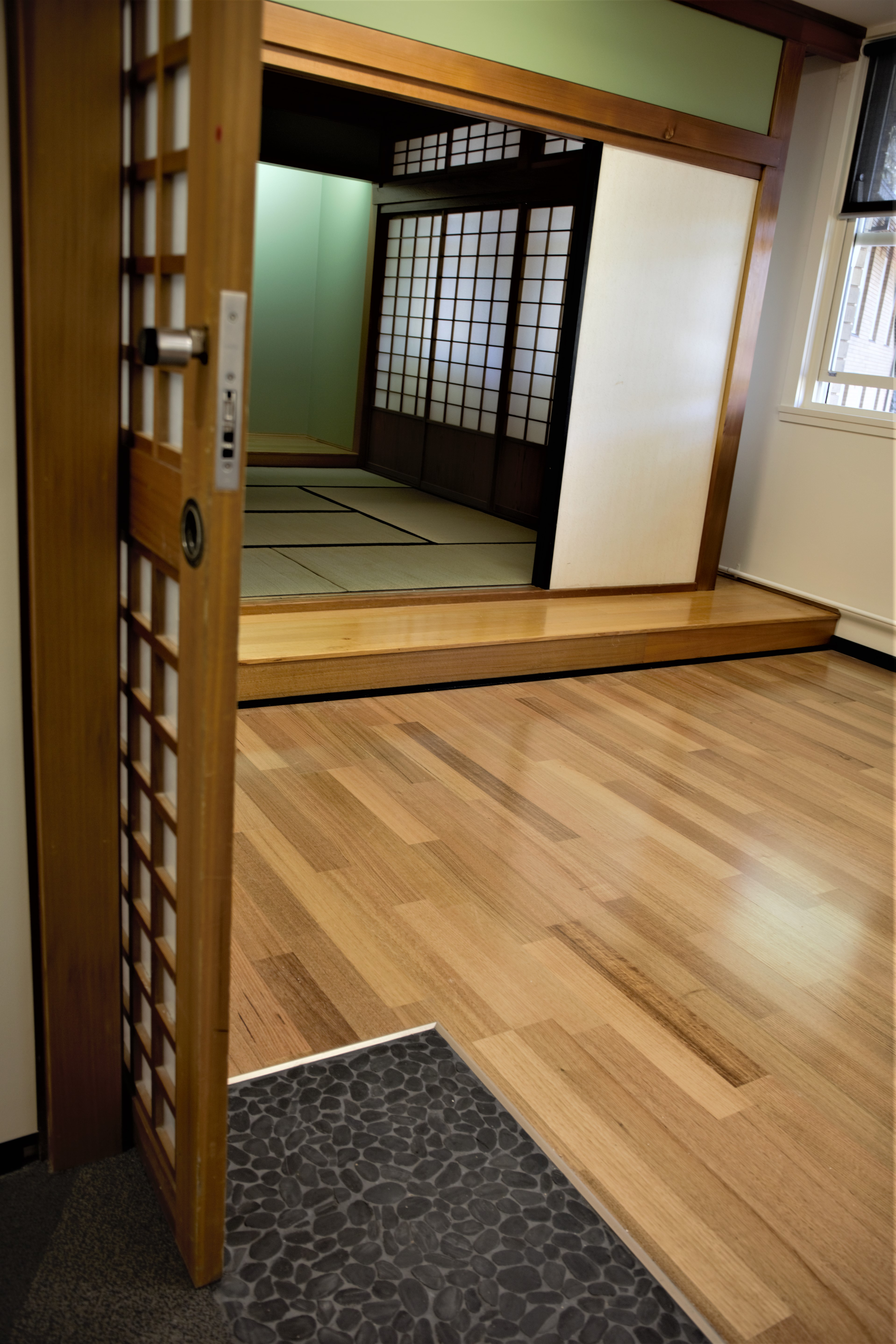 Japanese tatami room - Coombs building