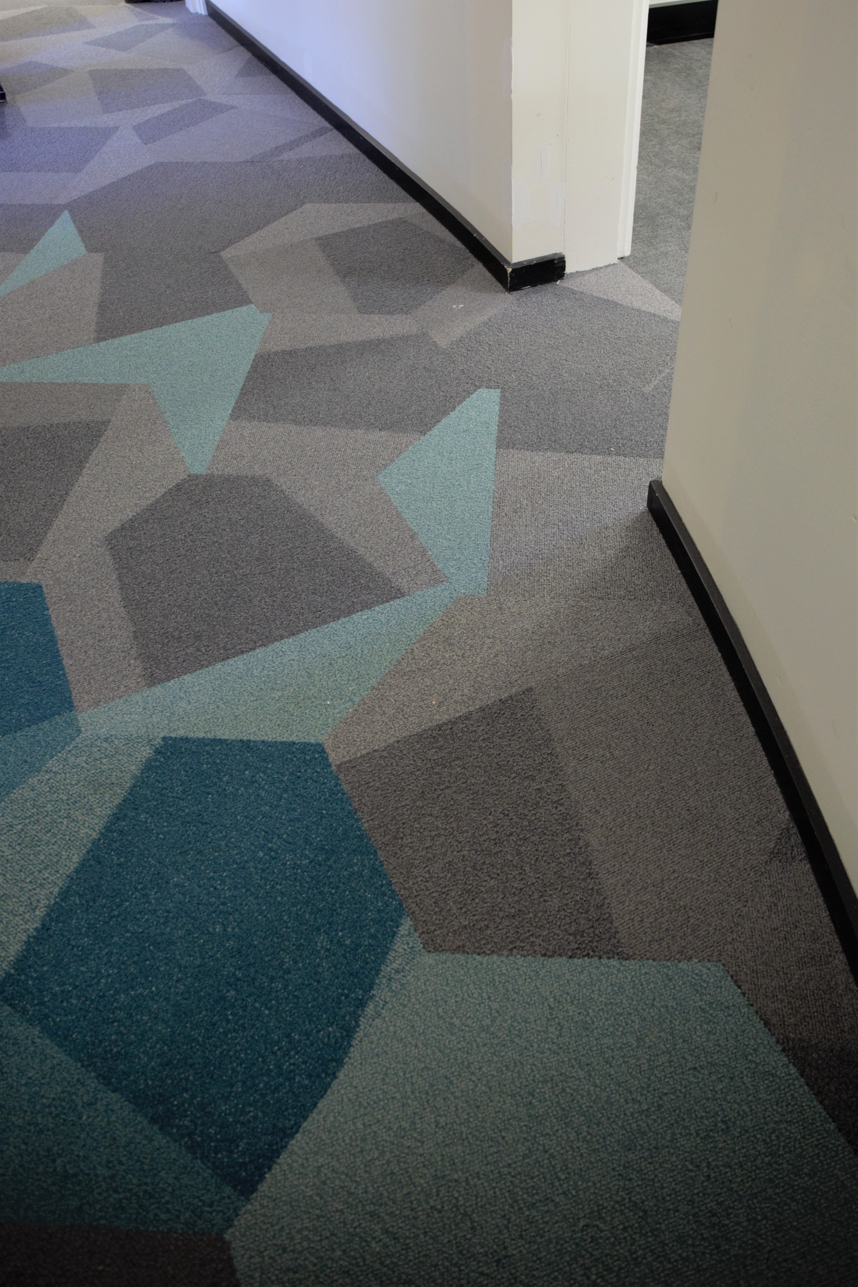 Level 2 teal carpet - Coombs building
