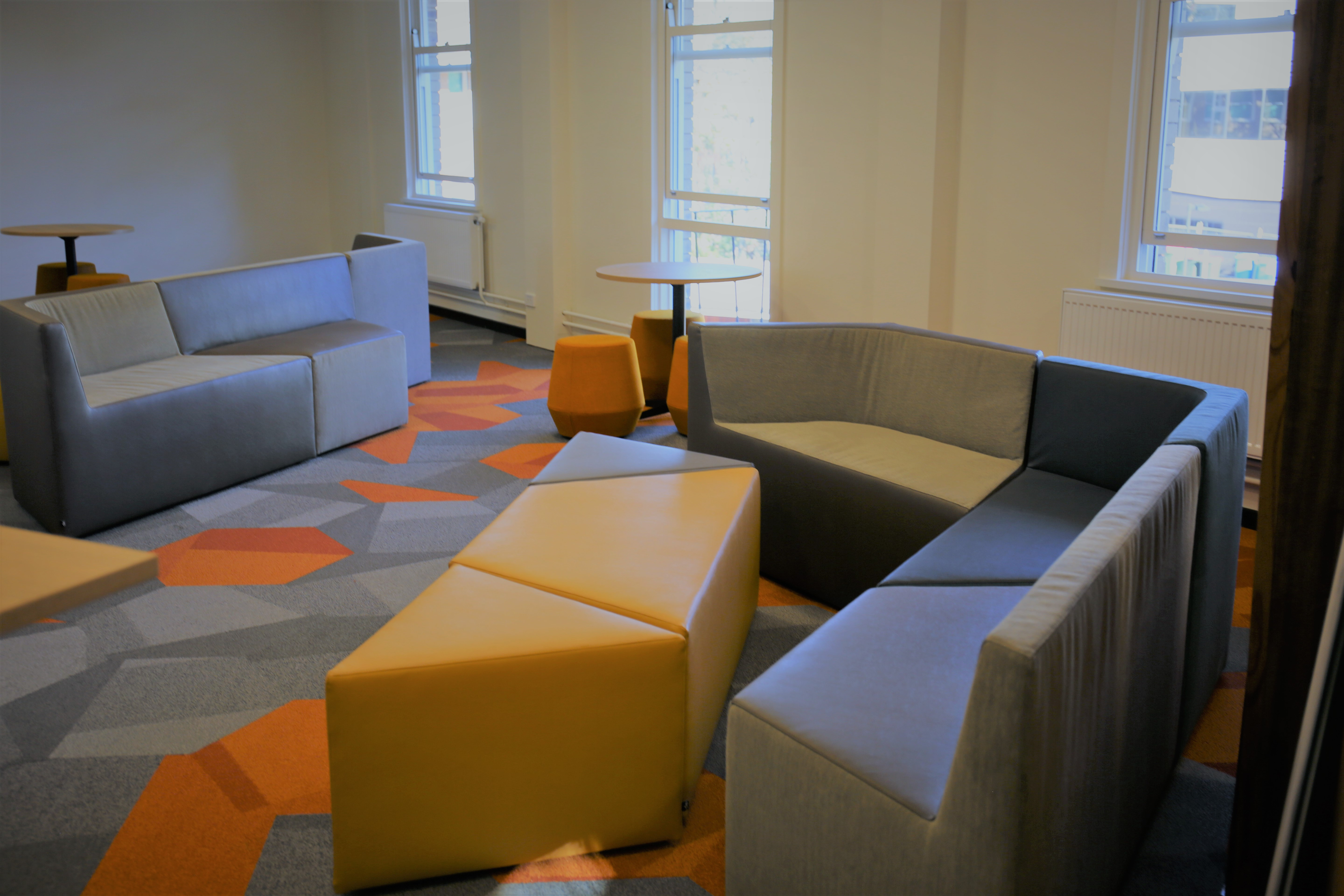 Level 3 communal breakout space - Coombs building